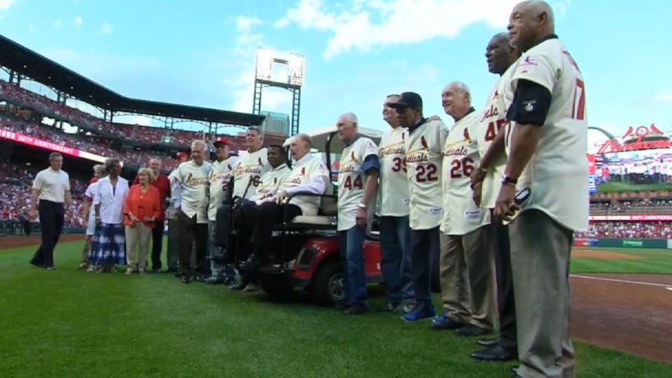 Cardinals celebrate '67 title
