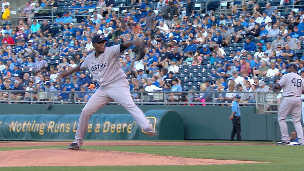 Bates de los Yankees respaldan a Michael Pineda en triunfo sobre ...