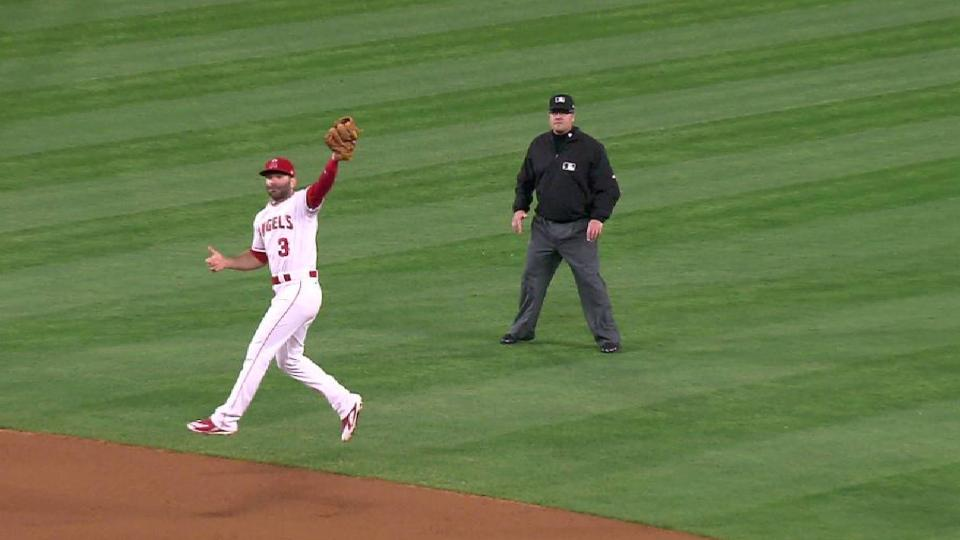 Espinosa's second leaping grab
