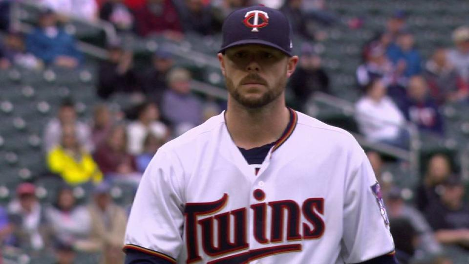 Pressly strikes out the side