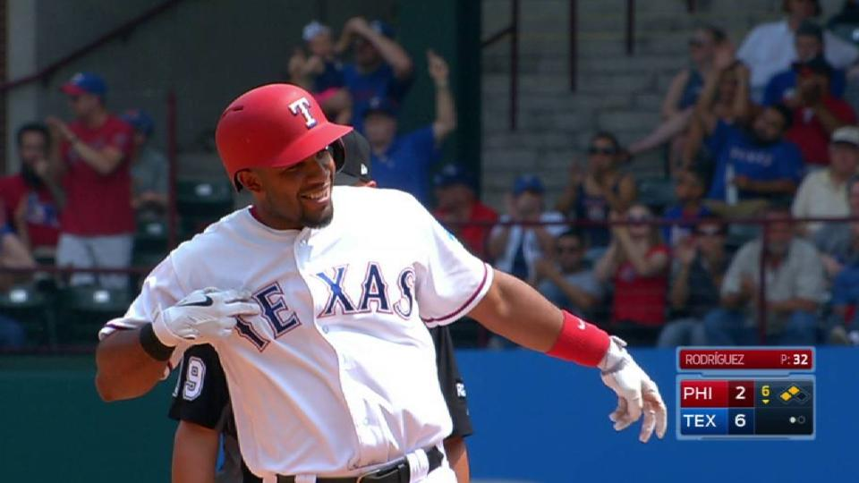 Andrus' RBI double to left