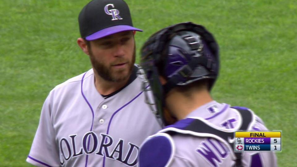 Holland earns save, seals win