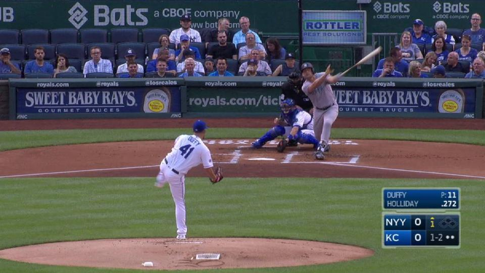 Duffy strikes out the side