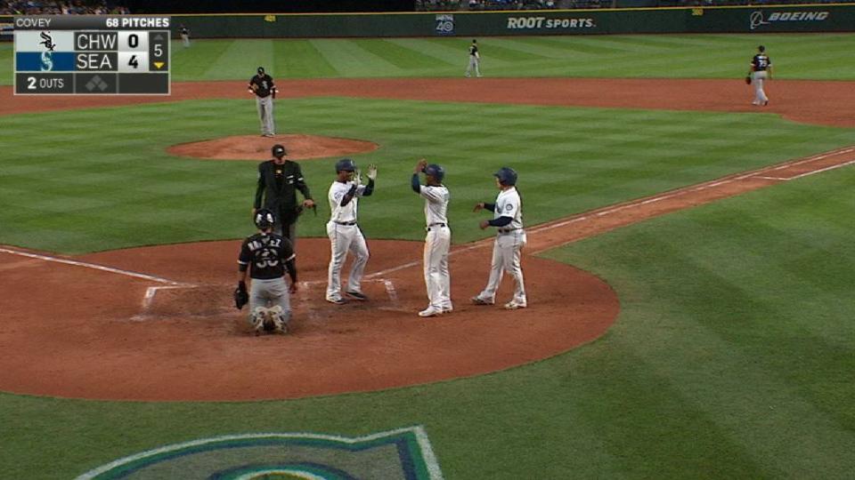 Segura's three-run homer