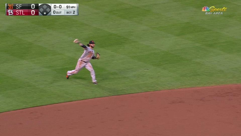 Crawford's great play at short