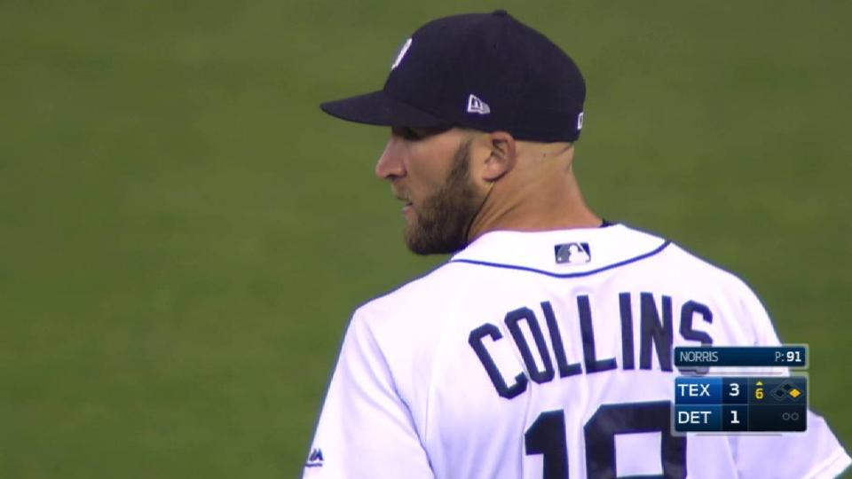Collins gets Lucroy at second