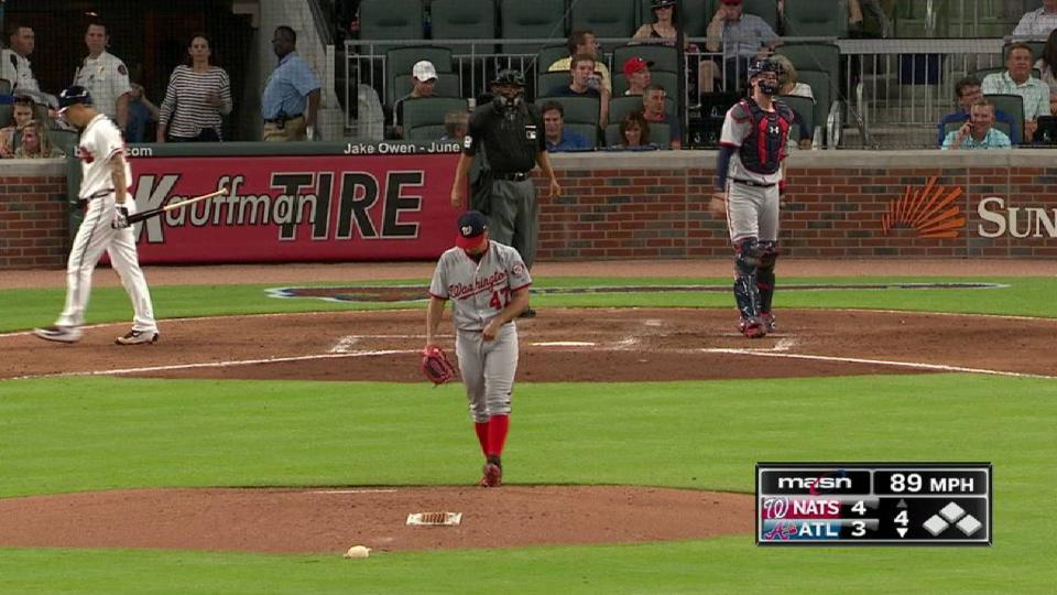 Gio strikes out Peterson