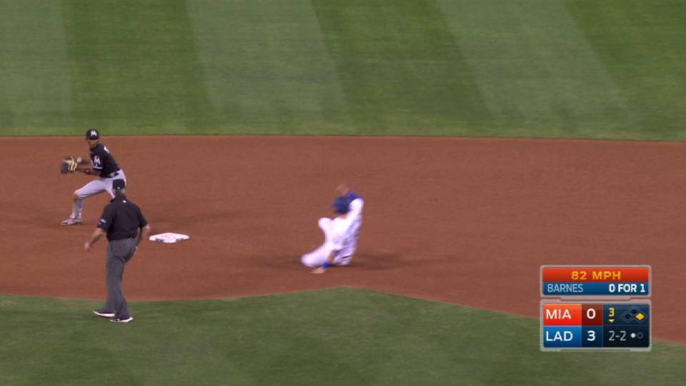 Colon starts inning-ending DP