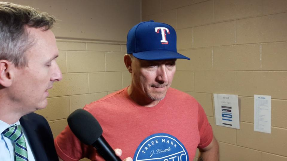 Banister on win over Tigers