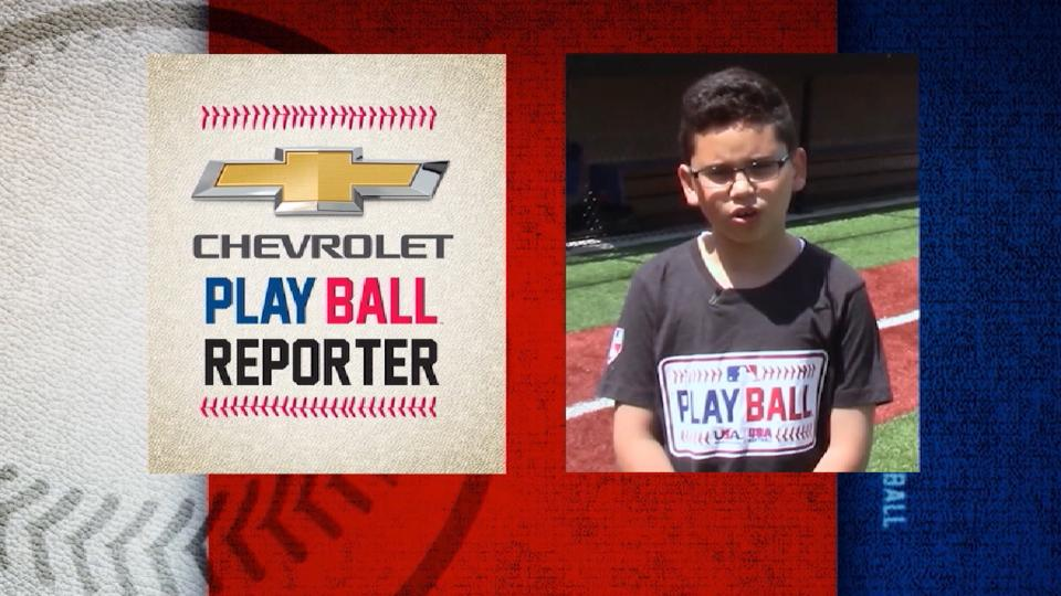 Play Ball's Chevy Kid Reporter