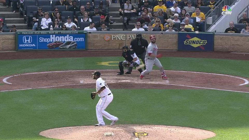 Rupp's RBI single up the middle
