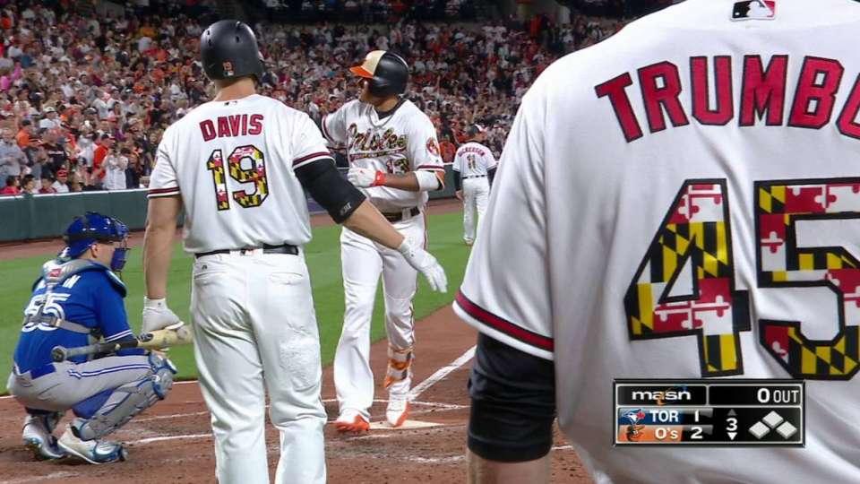 Machado's solo home run