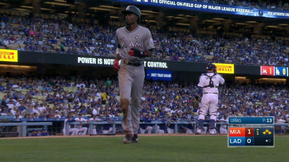 Stanton's RBI fielder's choice