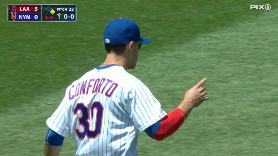 Conforto cuts down Espinosa