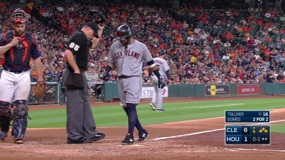 Gomes notches his fifth RBI