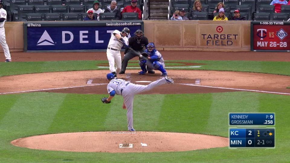 Grossman's two-run home run