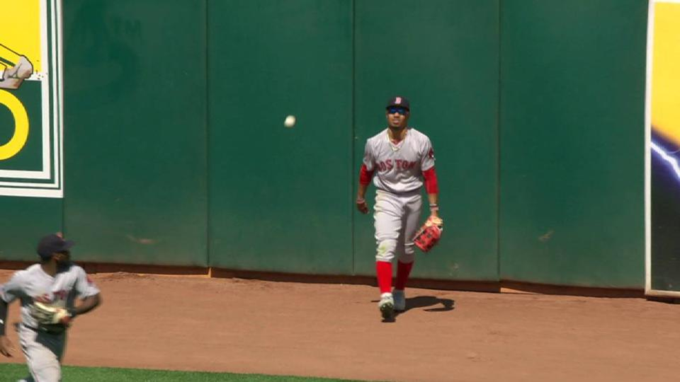 Betts' jumping catch