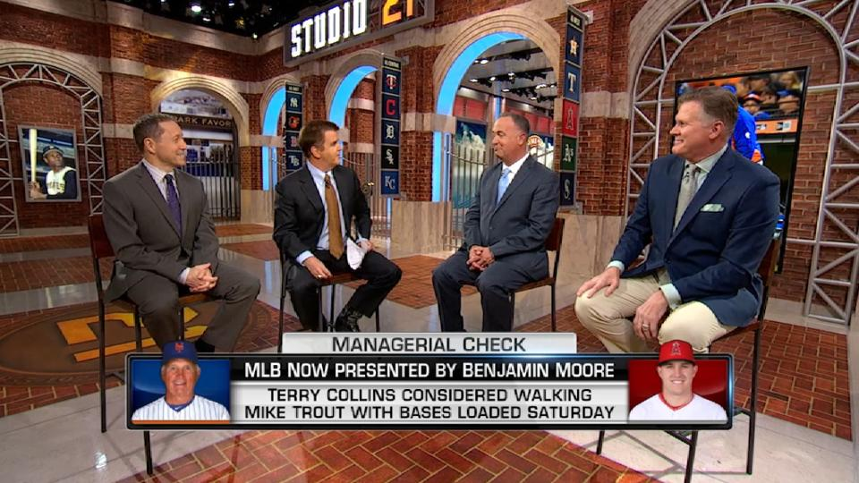 MLB Now on managerial decisions