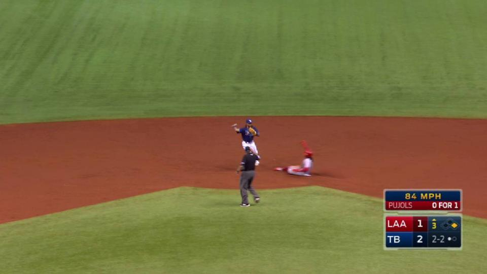 Odorizzi induces double play