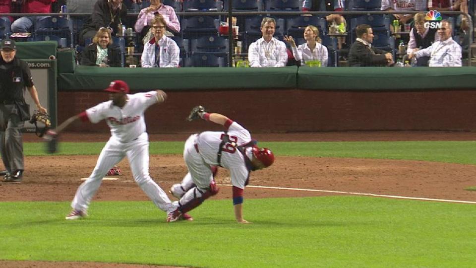 Rodriguez's fine defensive play