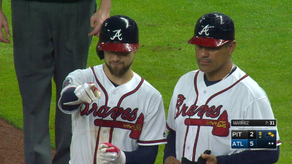 Inciarte tallies his fifth hit
