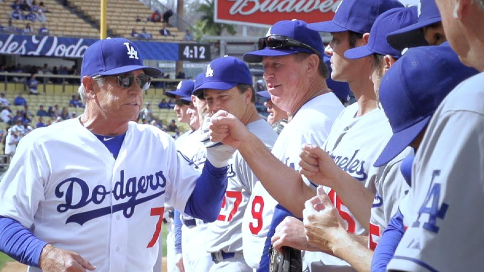 Dodgers Old-Timers Game