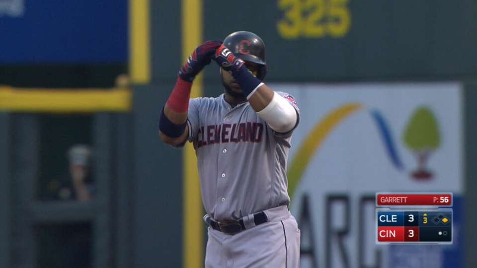 Indians post five runs in 3rd