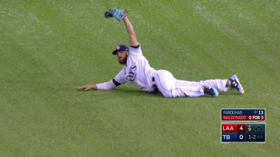 Souza's great catch in the 9th