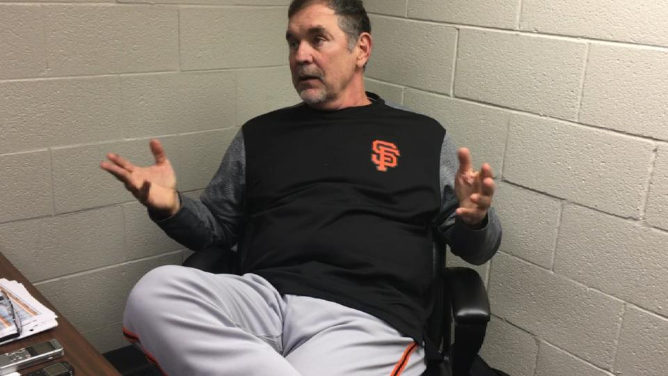 Bochy on Cueto's outing in loss