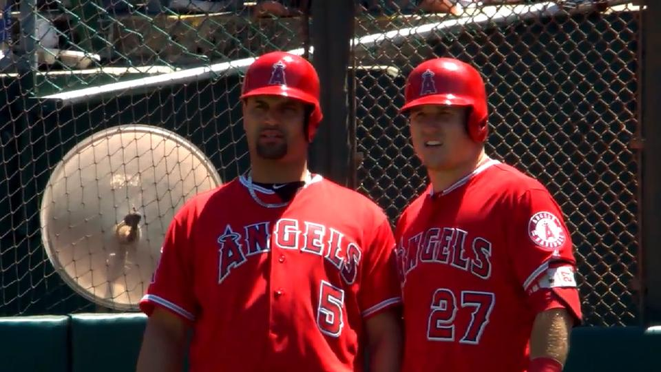 Trout and Pujols on hitting