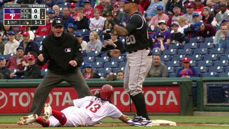 Chatwood's quick pickoff move