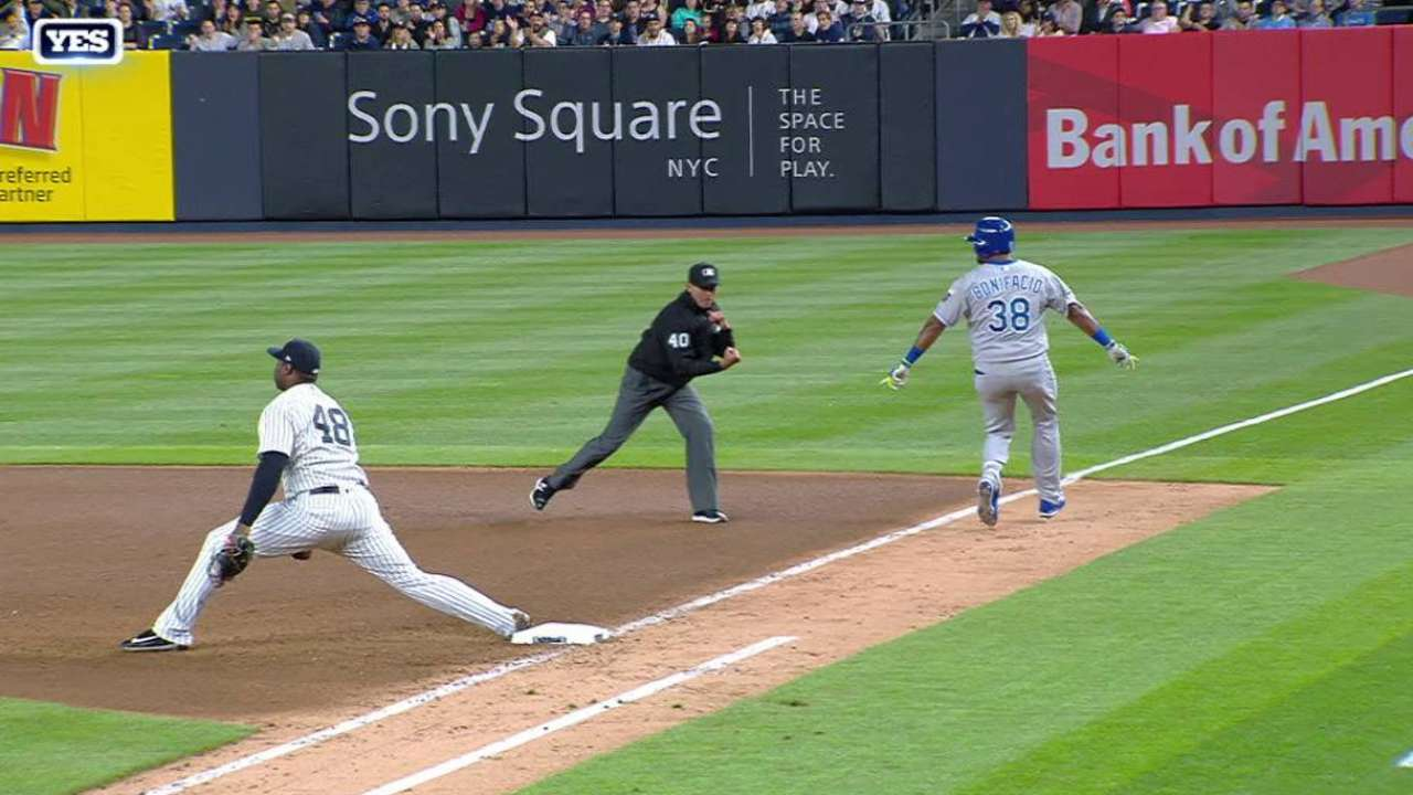 Severino lanza joya y Yankees blanquean a Reales | New York Yankees