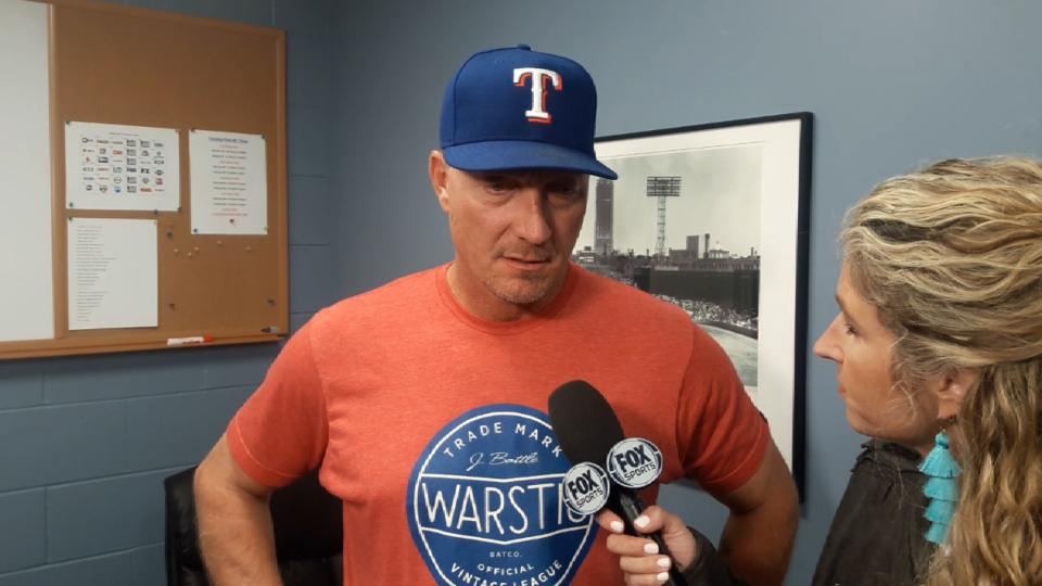 Banister talks poor 7th inning