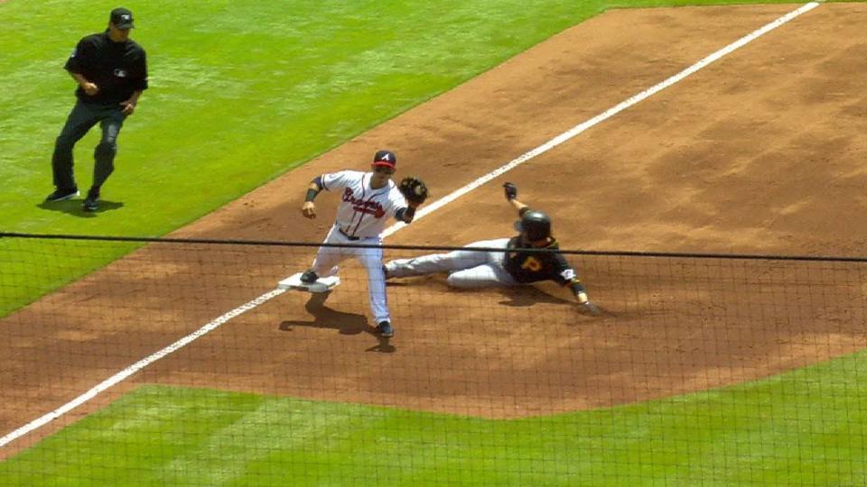 Suzuki's close play at third