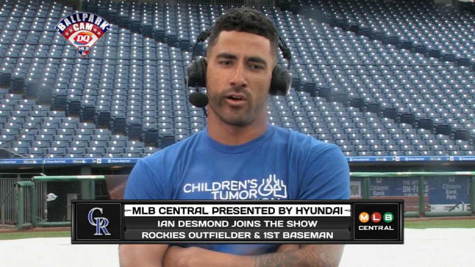 Ian Desmond on MLB Central