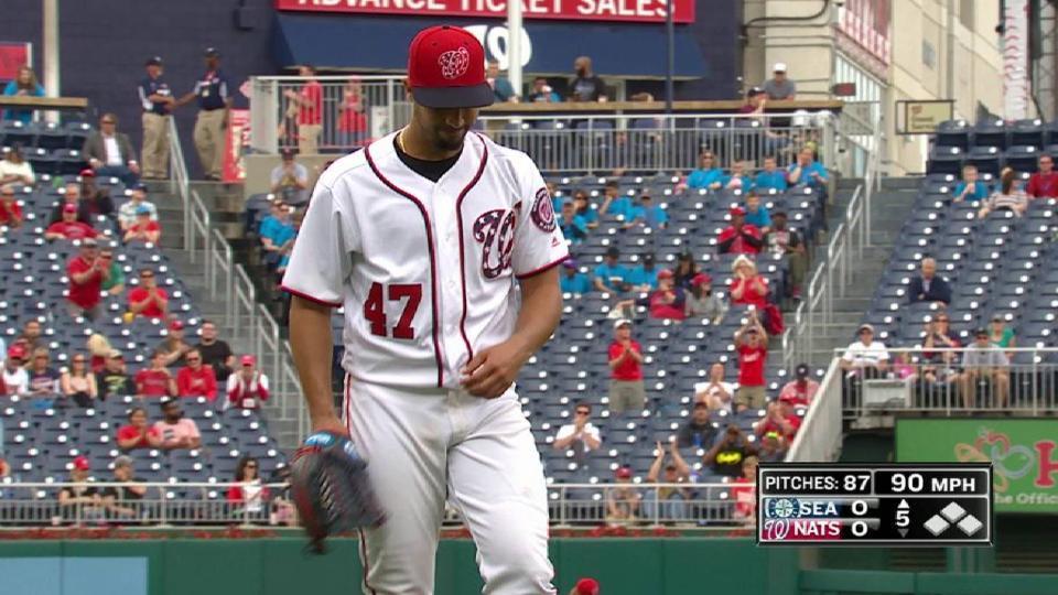 Gonzalez escapes jam with a K
