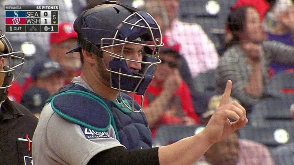 Zunino catches Taylor stealing