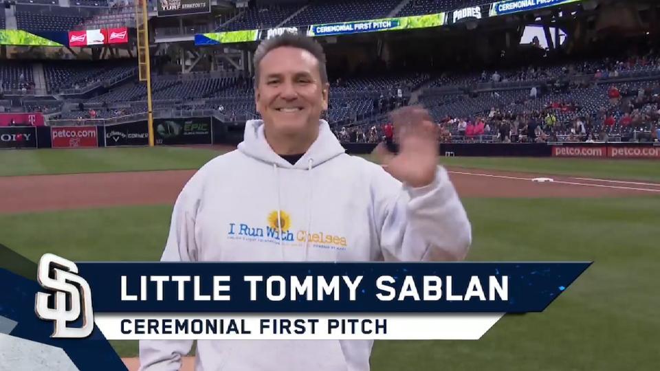 5/15/17: Sablan's first pitch