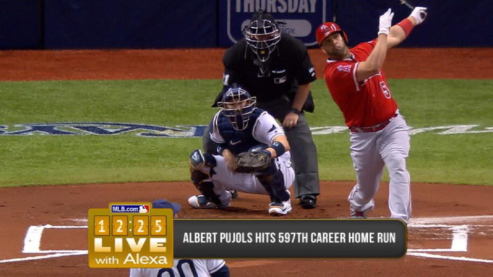 Anderson on Pujols chasing 600
