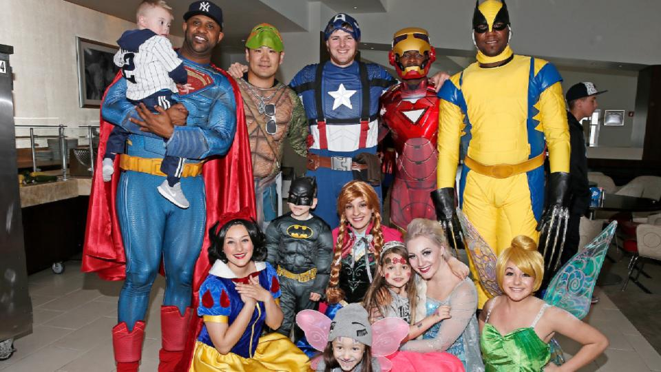 Yankees treat kids to super day