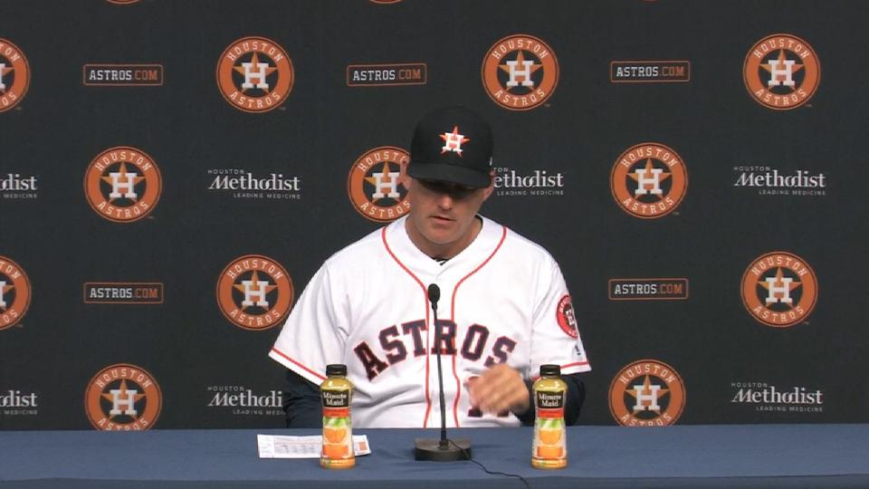 Hinch on 7-6 win over Tigers