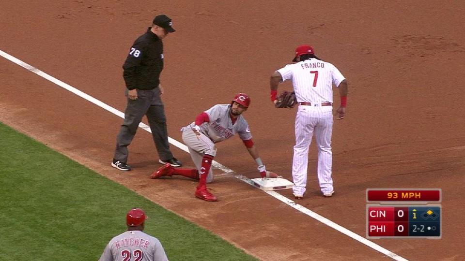 Hamilton's second stolen base