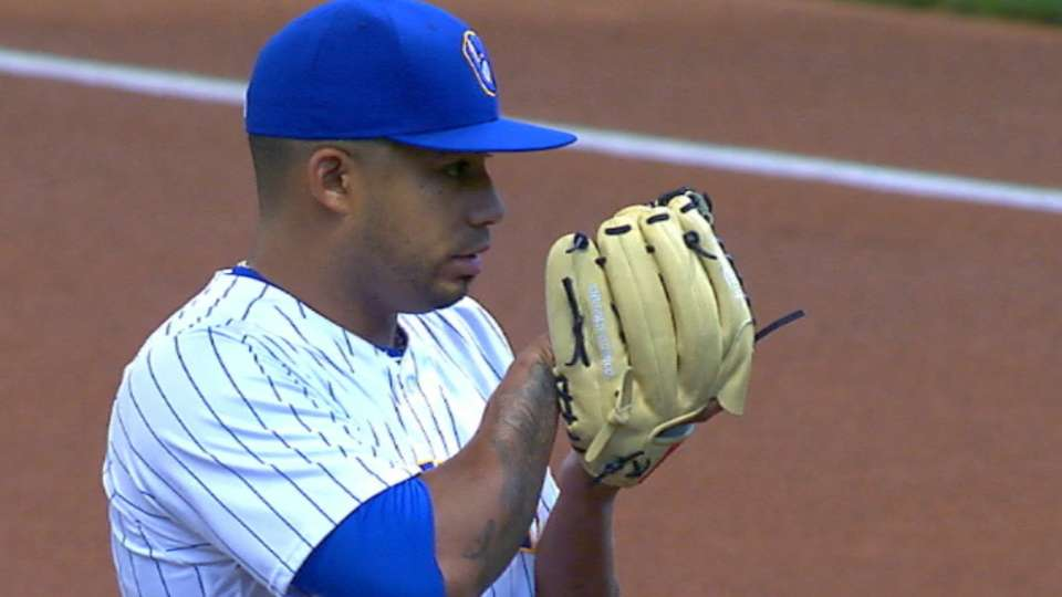 Guerra's five-strikeout night