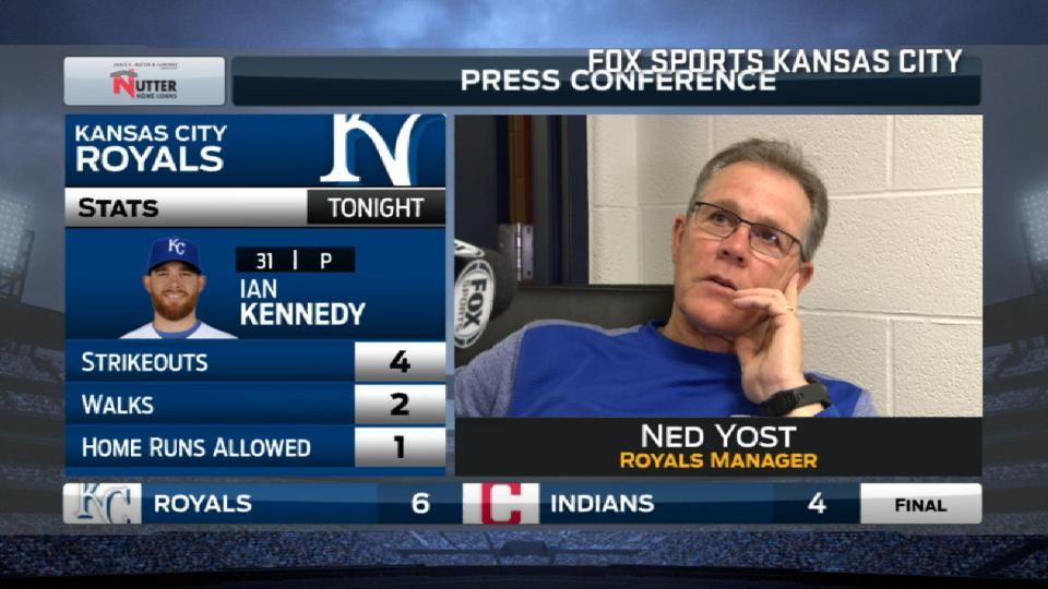 Yost on come-from-behind win