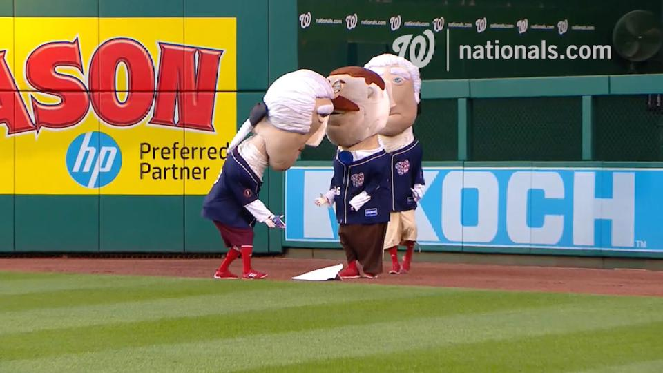 May 26 Presidents Race