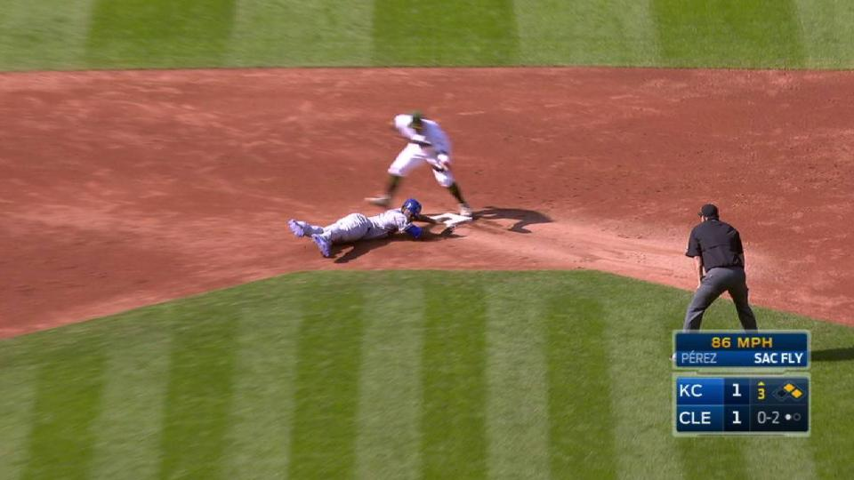 Ramirez doubles up Cain