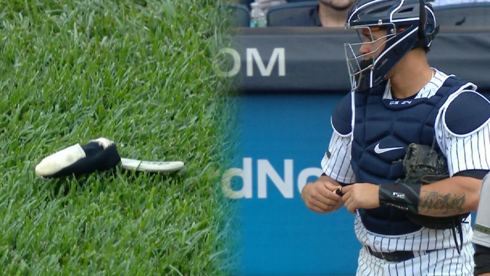 Betances knocks off glove