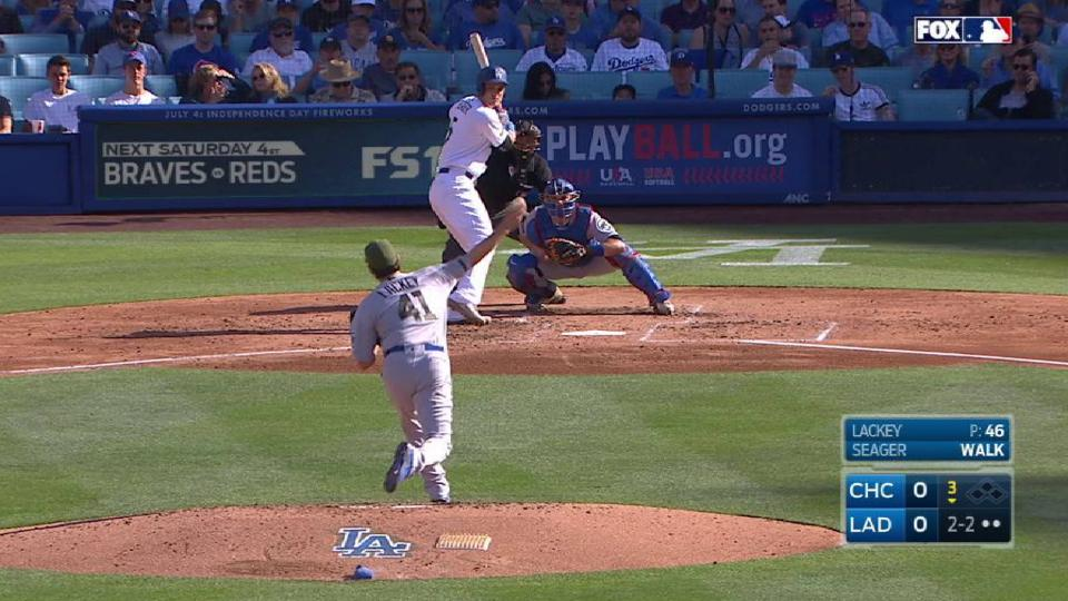 Lackey K's Seager, the side