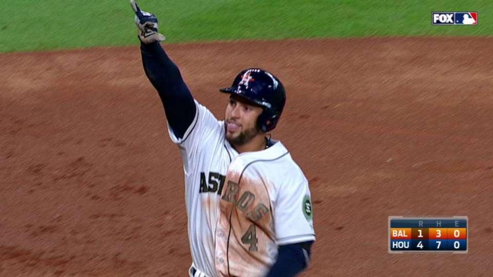 Springer's two-run homer