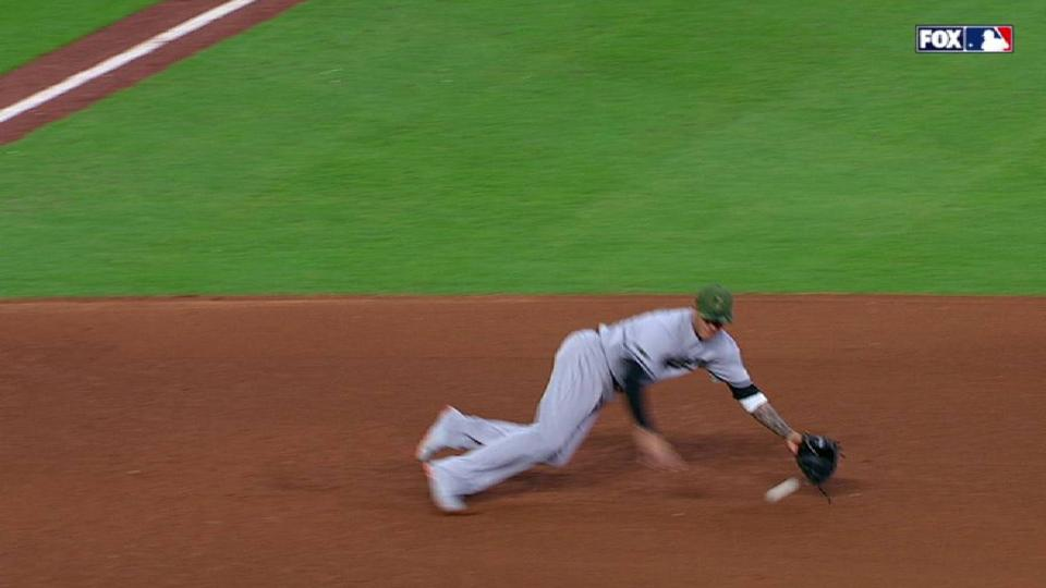 Machado's diving stop